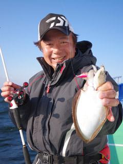 東京湾スミイカ釣り?
