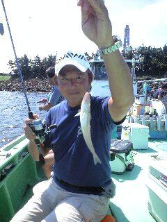 シロギス釣り
